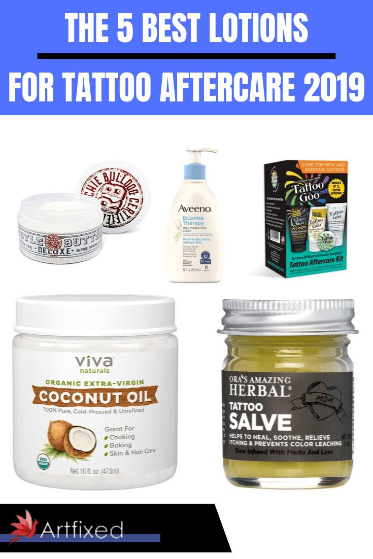 Vaseline Lotion For Tattoo : vaseline, lotion, tattoo, Lotions, Tattoo, Aftercare, Artfixed