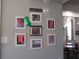 Wende as Featured Artist at Opening Reception