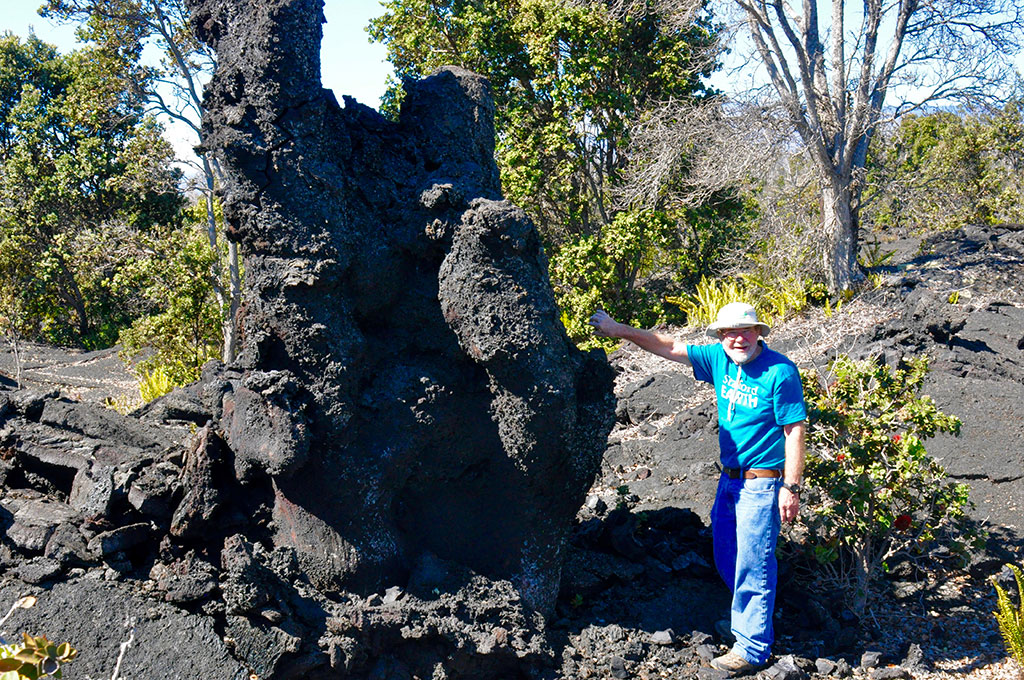 Dr Don Swanson, Volcanologist in Hawaii