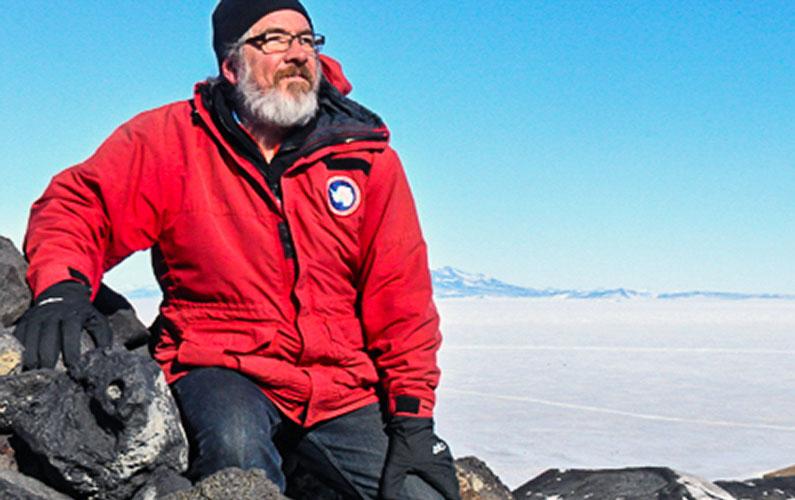 Glenn in Antarctica