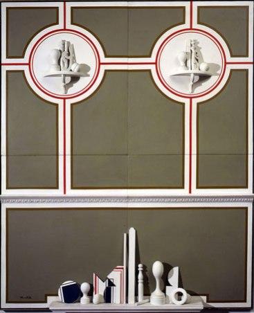 nello-stile-italiano-1965-tecnica-mista-su-legno-_-mixed-media-on-wood-220-x-160-x-45-cm