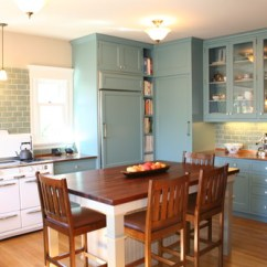 Art For The Kitchen Buy Modern Cabinets Why Not Bring Back Table Add Some Flair While You Re At Traditional By Oakland Architects Designers Lorin Hill Architect Via Houzz