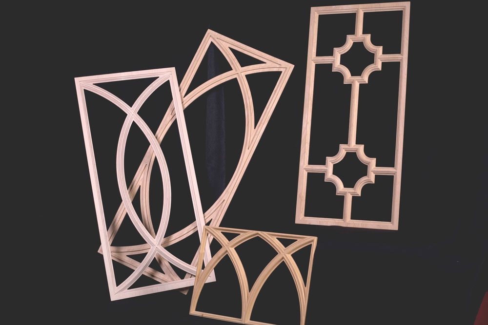 Mullion Cabinet Doors Glass