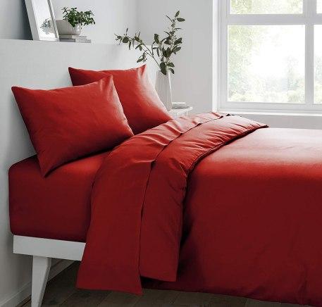Lenjerie culoare rosu