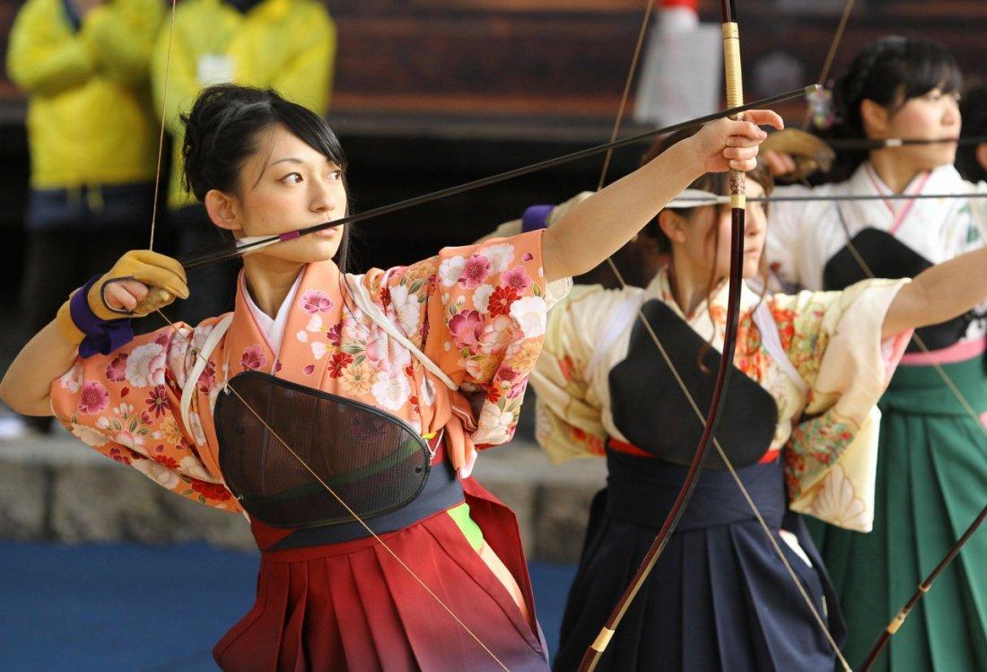 Serunya Kompetisi Memanah Dalam Festival Toshiya