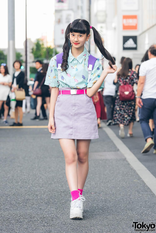 Tampil Nerd Sekaligus Kawaii Dengan Fashion Pastel Popsicle