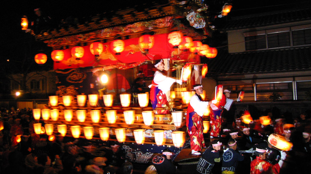 Festival Malam Yang Meriah Chichibu Yomatsuri
