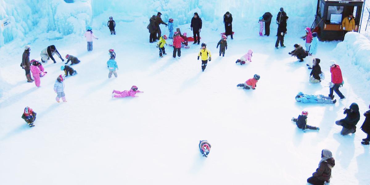 Festival Salju Yang Meriah Di Pinggir Danau Shikotsu