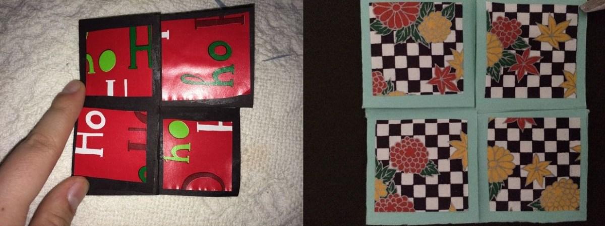 Mari Membuat Puzzle Kertas Lipat Jepang