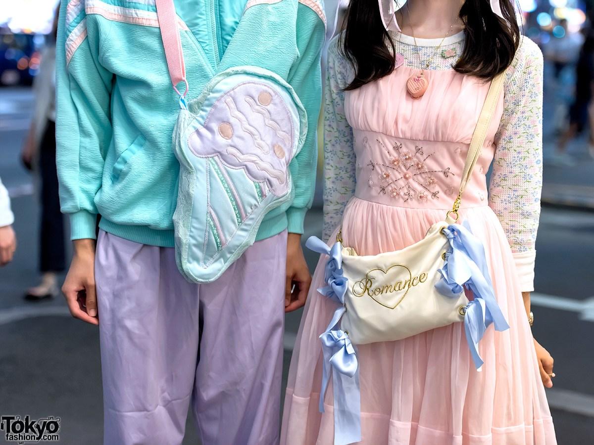 Tampil Berpasangan Dengan Fashion Harajuku Pastel