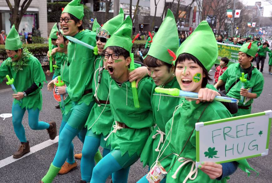 Festival Saint Patrick Day Juga Dilakukan Oleh Masyarakat Jepang