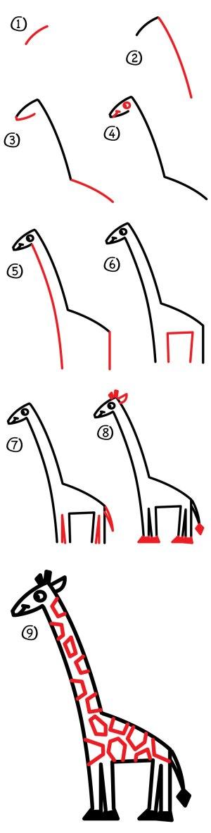 giraffe draw hub