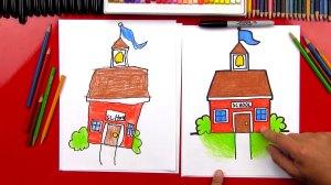 draw cartoon drawing drawings hub bus learn paintingvalley teacher getdrawings