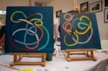 Atelier peinture abstraite