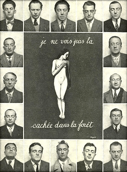 Je Ne La Voit Pas : Analysis, Réné, Magritte's, [femme], Cachée, Forêt, Musician's, Notes