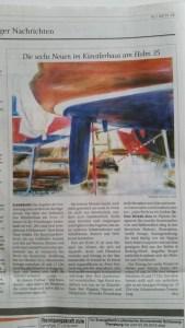 Flensburger Tageblatt vom 08.05.2015