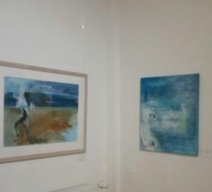 Blau - Ausstellung im Holm 35