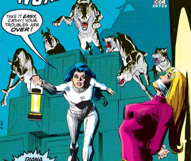 Cover Of Dick Giordanos Wonder Woman No 203 Dc Comics December 1972