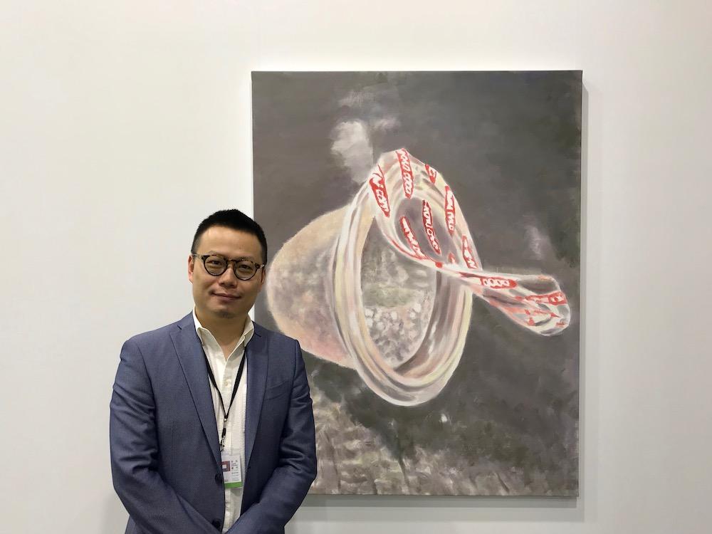 David Zwirner Hong Kong Director Leo Xu.