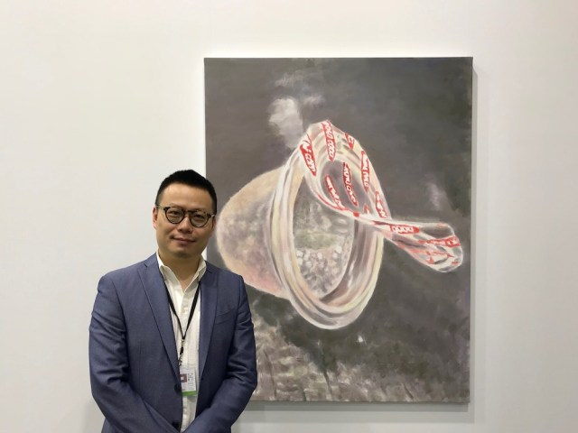 David Zwirner Hong Kong Director Leo Xu.