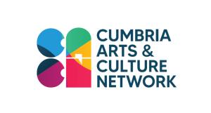 Cumbria arts and culture network logo.