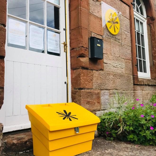 The Studio Morland Big Yellow Box