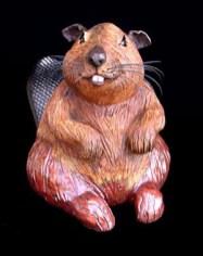 """Beavers small approx. 13.5""""H x 9.5""""W x 19""""L large approx. 22.5""""H x 13""""W x 23""""L"""
