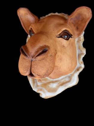 """Camel Wall Head - approx. 11""""H x 10""""W x 8""""D"""