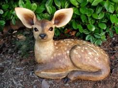 "Deer - approx. 17.5""H x 23.5""L"