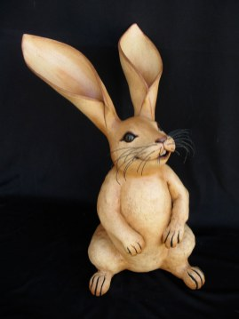 "Large Standing Rabbit - approx. 17""-24""H"