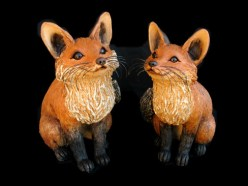 "Small Fox - approx. 12.5""-14""H"