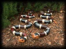 """Snakes - approx. 3""""H x 9""""W x 26""""L"""
