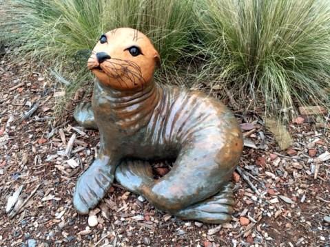 """Seal - approx. 17""""H x 21""""W x 26""""L"""
