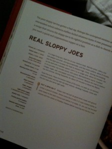 Cookbook Recipe