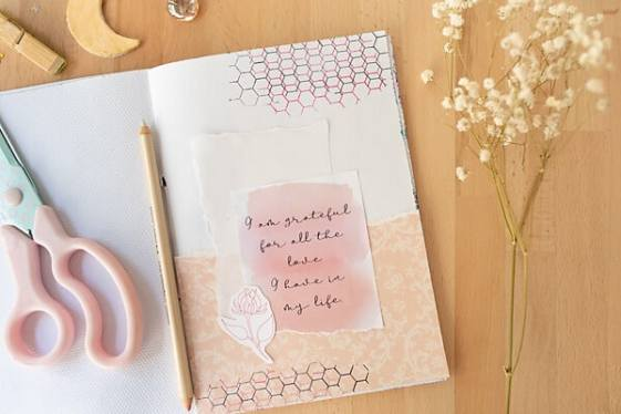Gratitude Journal Prompts: Art Journaling with Mindfulness | Artful Haven
