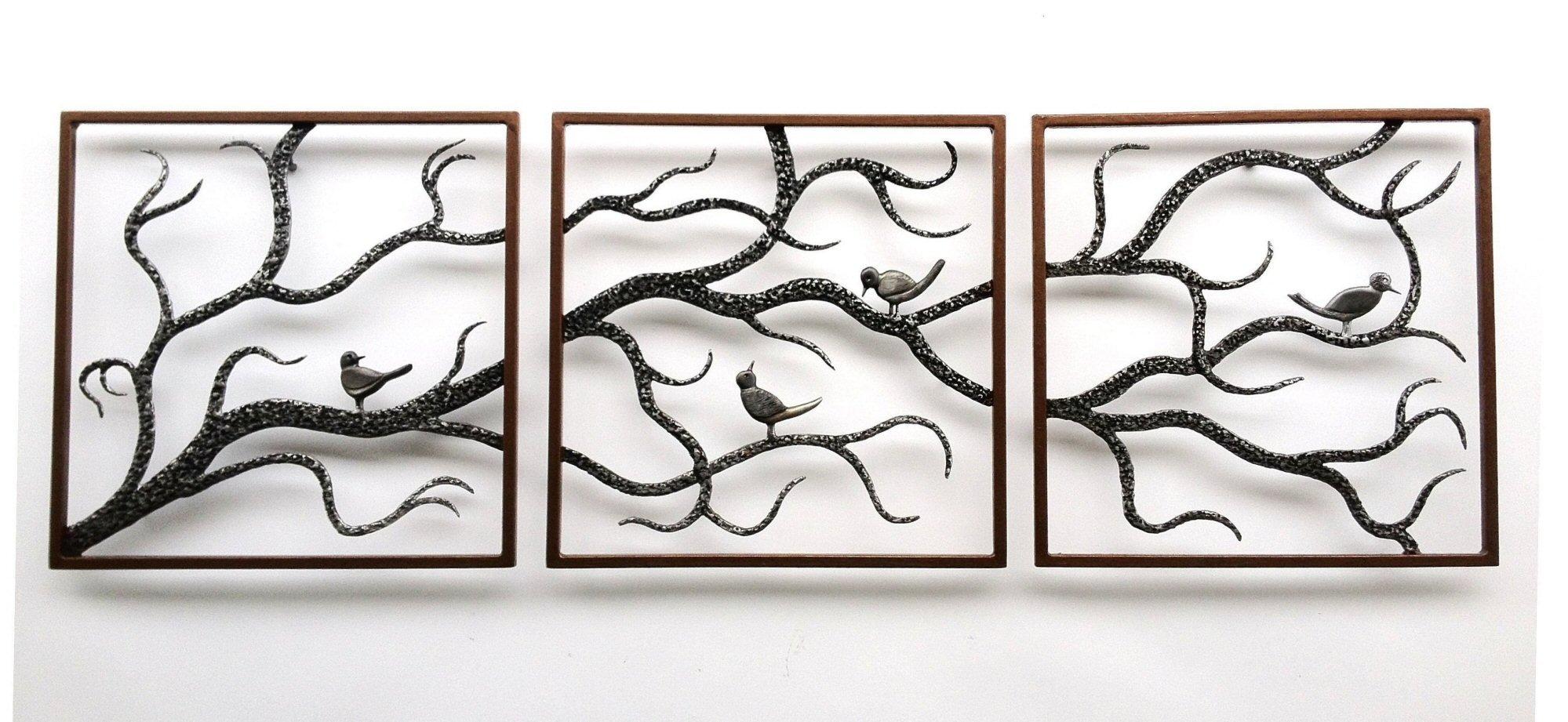 Friendship Tree By Bernard Collin (Metal Wall Art