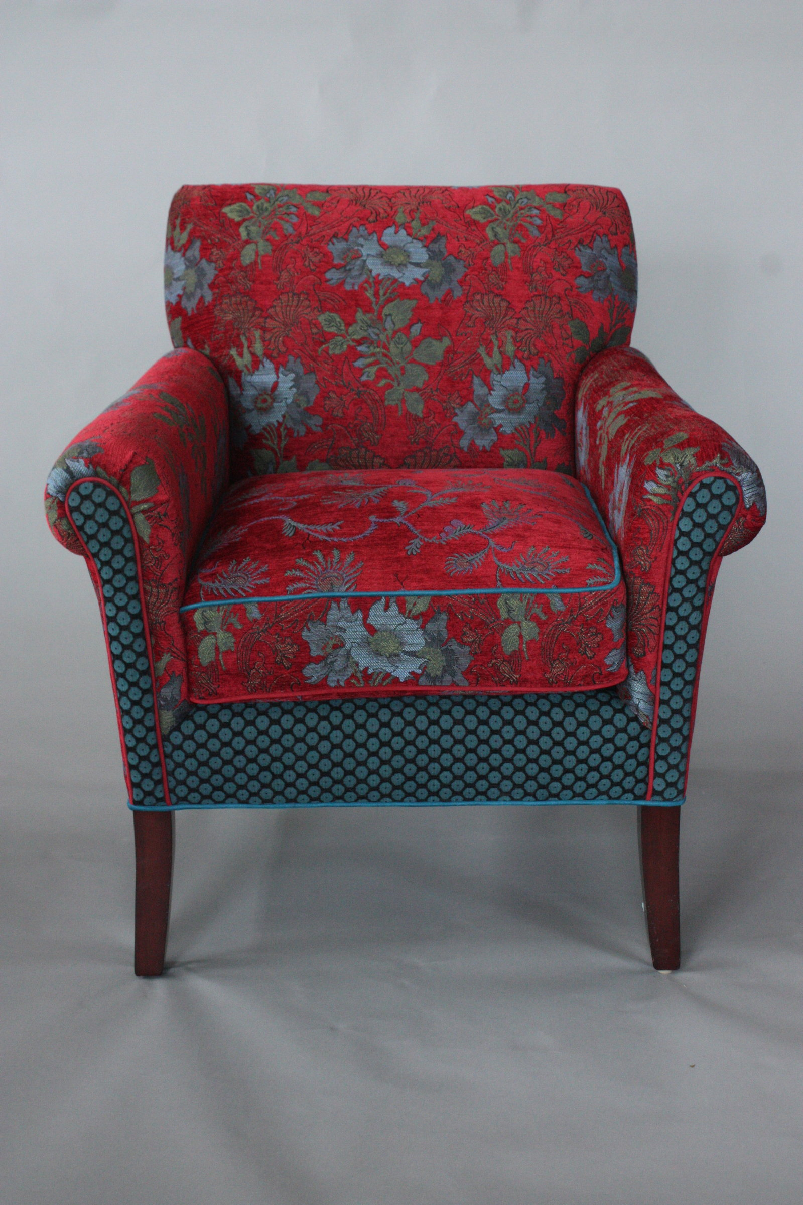 Red Salon Chairs Salon Chair In Red Wine By Mary Lynn O 39shea Upholstered