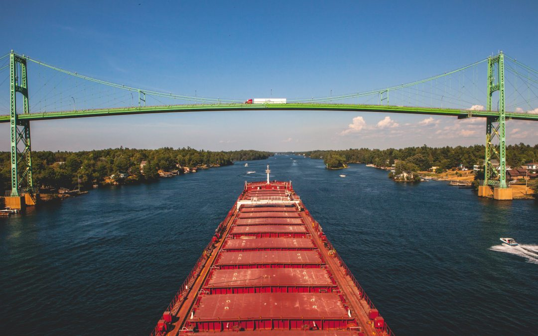 Traveling From Montreal to Duluth via Inland Sea