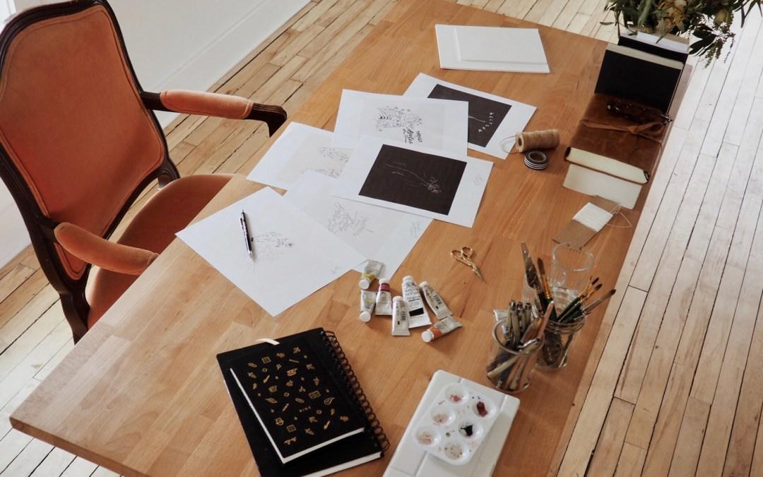 Inside the Artist's Studio: Anna Lisabeth Jeter