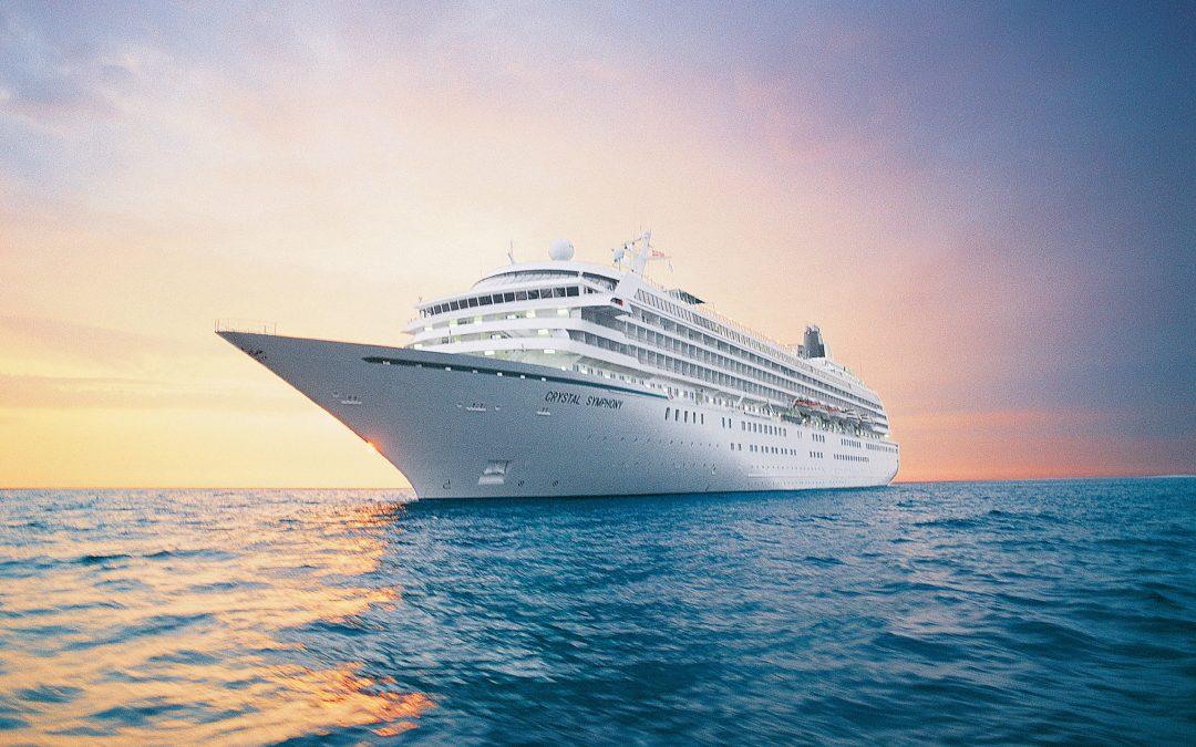 Aboard Crystal Cruises' Luxurious Crystal Symphony