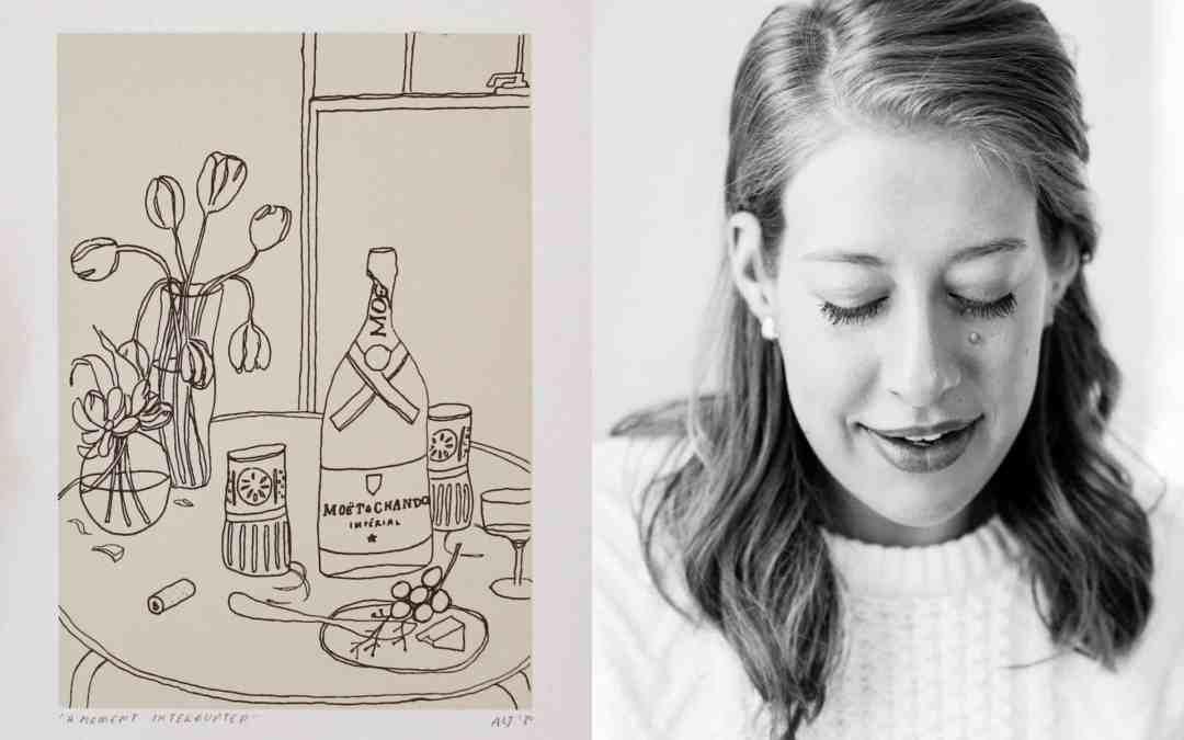 "Artful Giving: Artist Anna Lisabeth Creates ""A Moment Interrupted"""