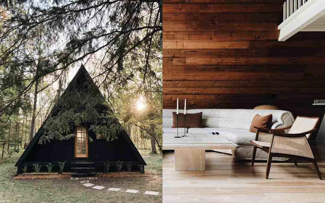 Inside the Scandinavian A-Frame Cabin You Need to Rent