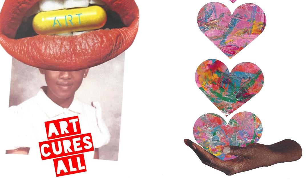 "Artful Giving: Behind Artist Heather Polk's ""Love is an Action Word"" Artwork"