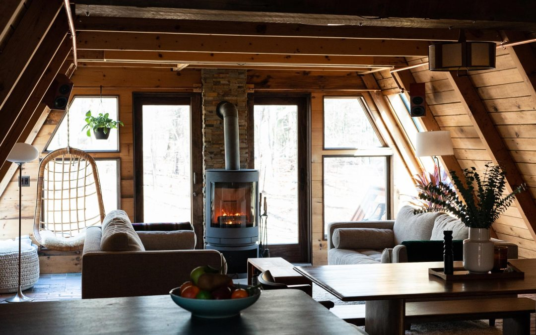 The Ancram A is a Luxury Midcentury Airbnb Getaway