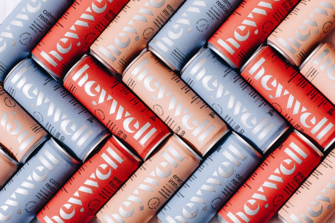 Heywell Sparkling Adaptogen Beverages | Artful Living Magazine