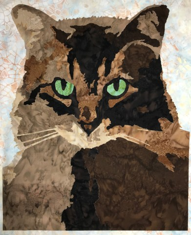 Maine Coon Cat Fusible Laser Cut Applique