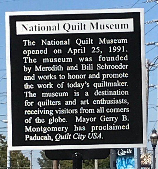 National Quilt Museum Historical Marker