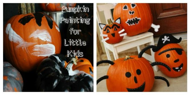 Affordable Painted Pumpkin Decorating Ideas Pictures Amazing Bedroom With