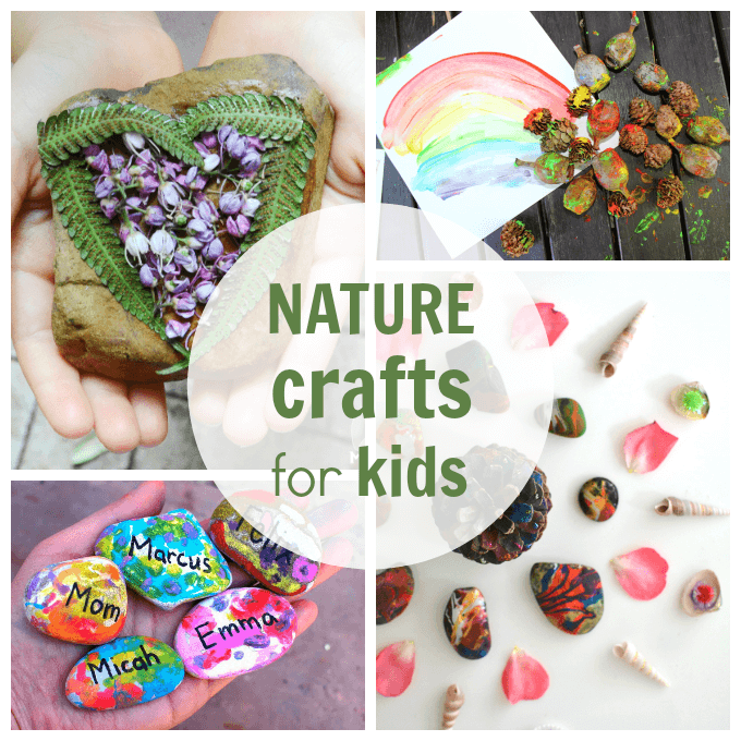Garden Crafts For Kids Plus Other Fun Nature Arts And Crafts Ideas