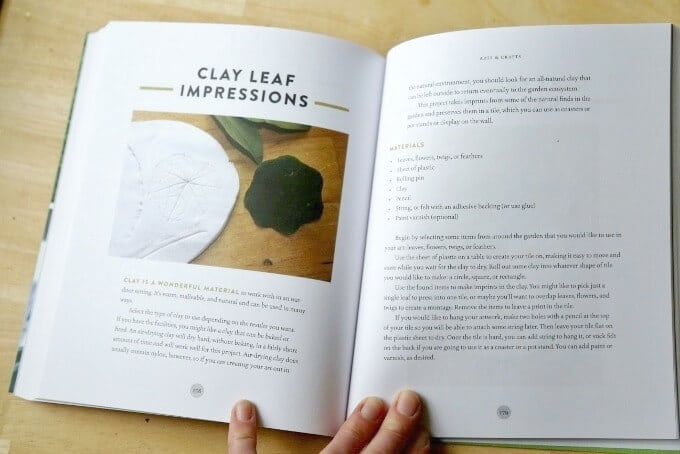 The Garden Classroom - Clay Leaf Impressions